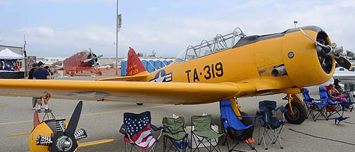 North American SNJ-6 Texan N349JB, May 14, 2011
